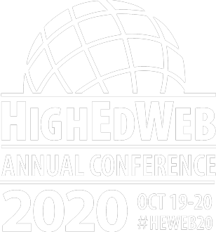 HighEdWeb Annual Conference 2020 Oct 19-20 #HEWeb20